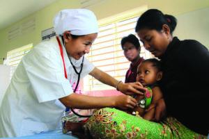 The political economy of inclusive healthcare in Cambodia